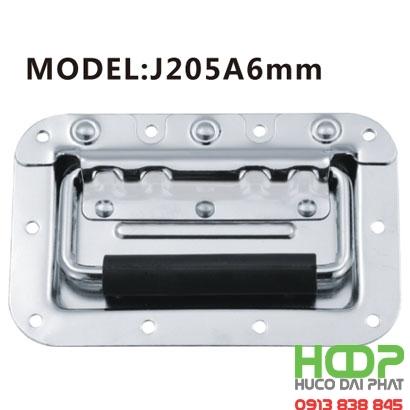 Khóa hộp inox J205A6mm