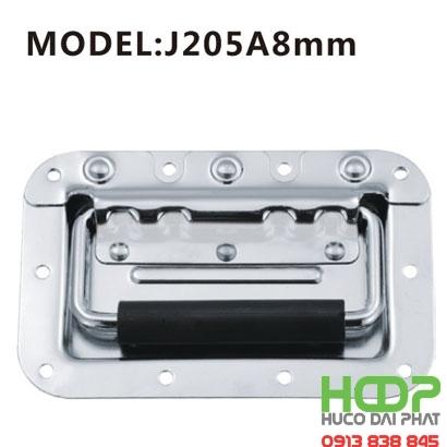 Khóa hộp inox J205A8mm